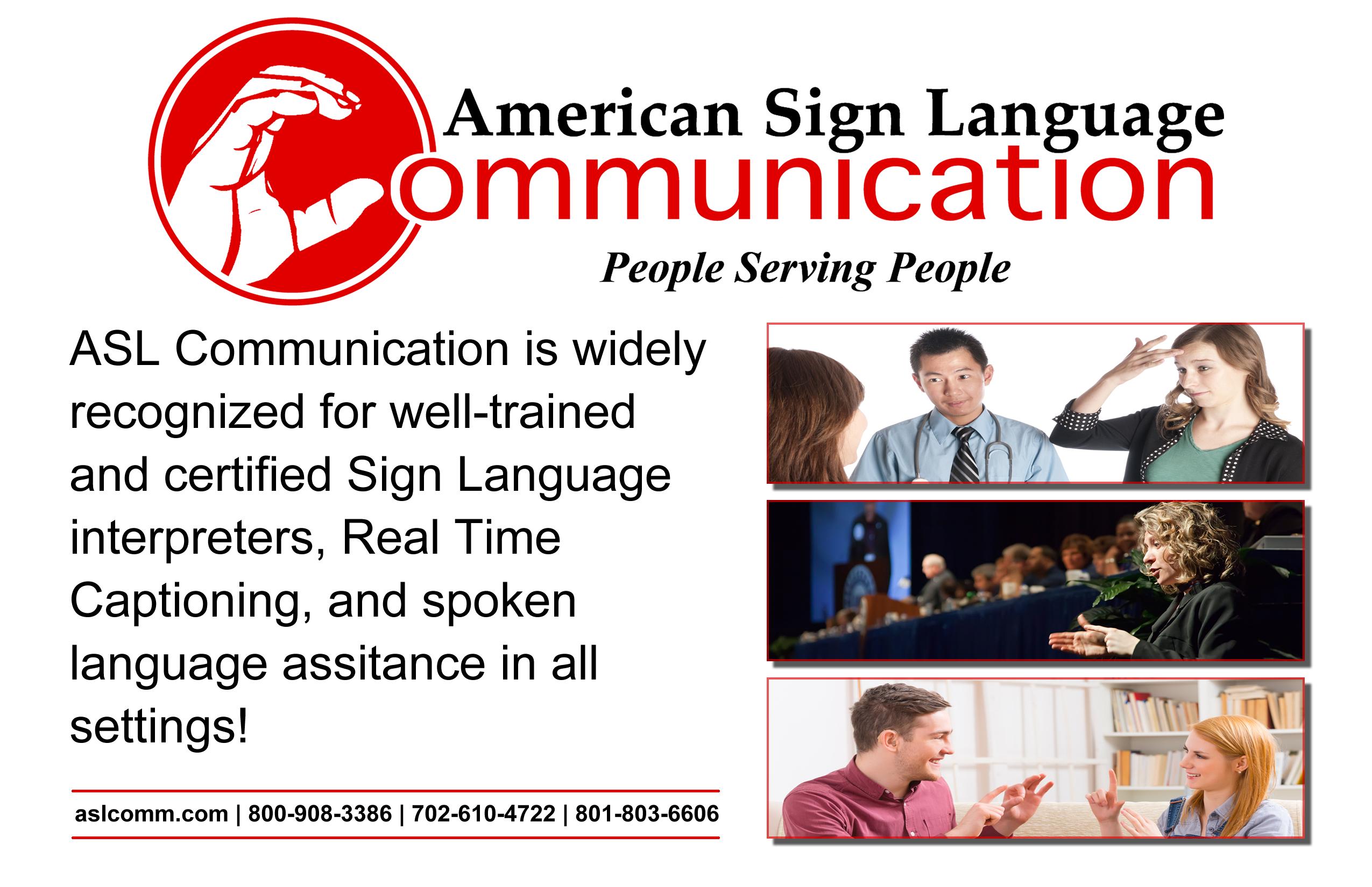American Sign Language Interpreting Training